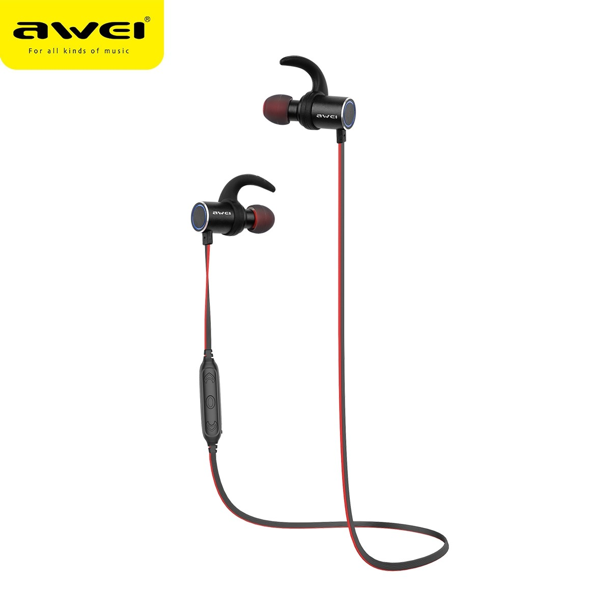 Awei AK8 Magnetic Switch Bluetooth Wireless Earphones