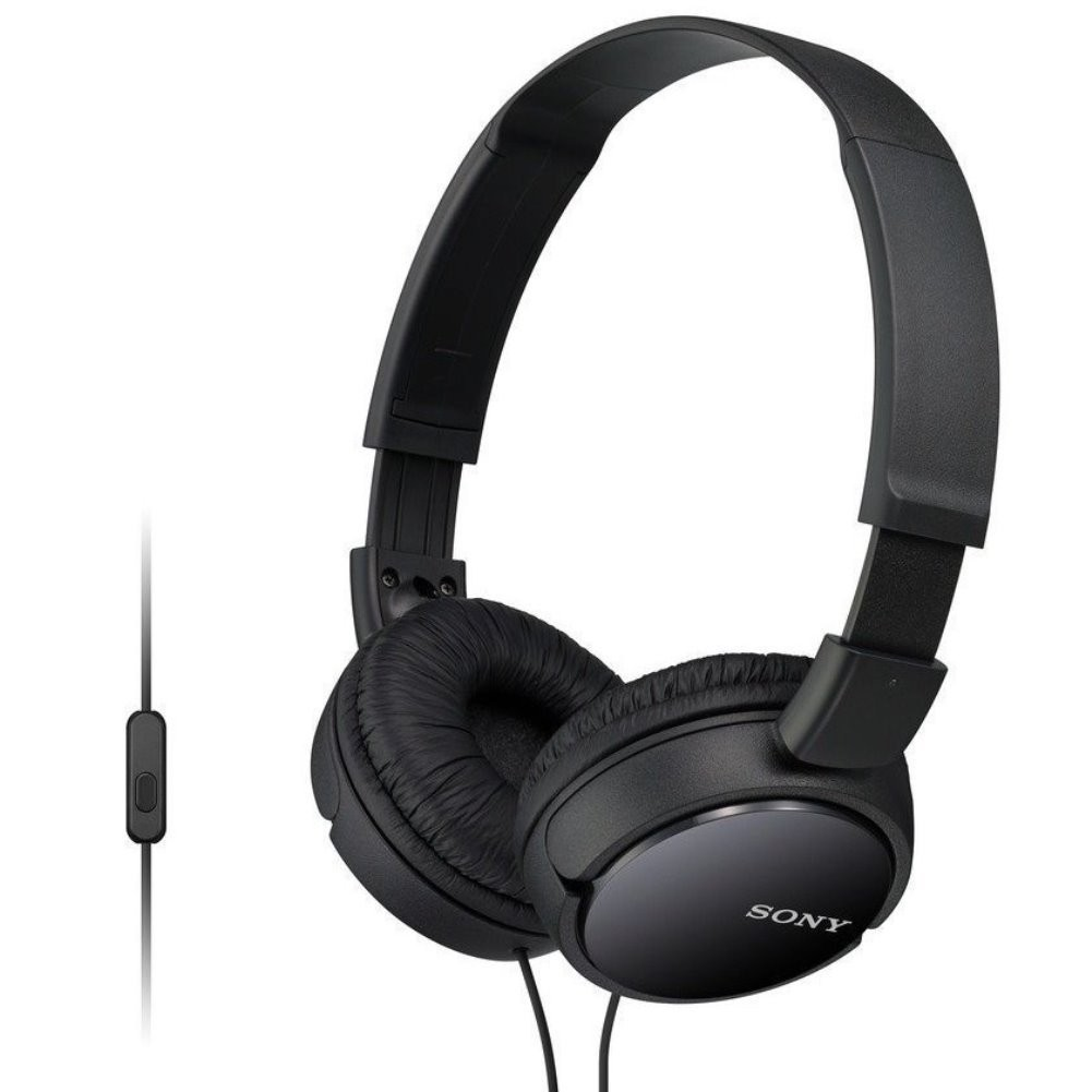 Sony MDR-ZX110AP Extra Bass Wired Headphones with Mic