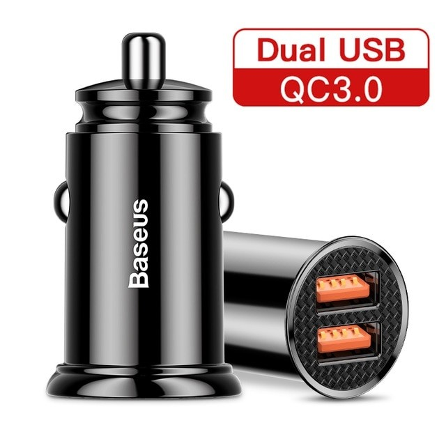 Baseus Dual QC3.0 30W Car Charger