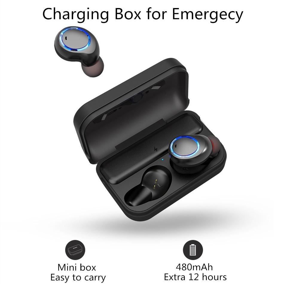 Awei T3 True Wireless Bluetooth Earbuds Earphones Headset Headphones