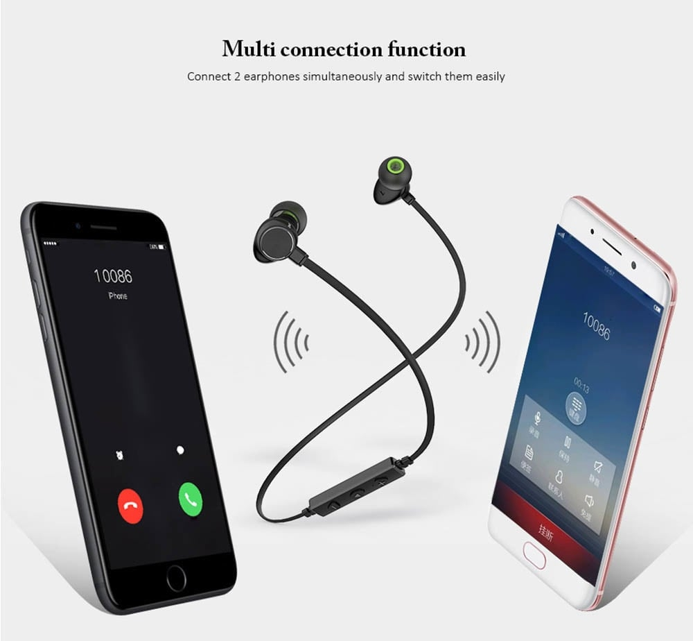Awei WT30 Bluetooth Wireless Earphones Earpiece Headphones Headset