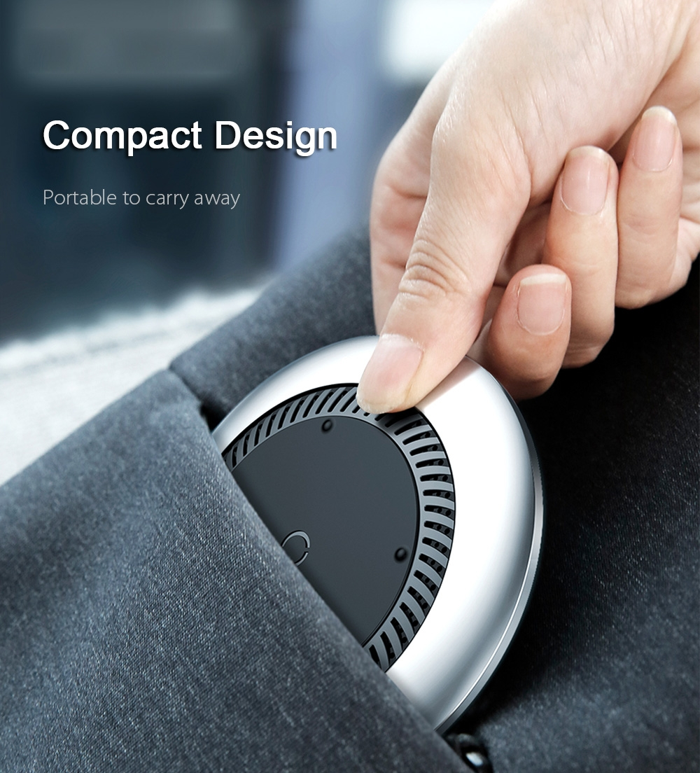 Baseus Whirlwind Desktop Wireless Charger Charging Pad Built-in Cooling Fan