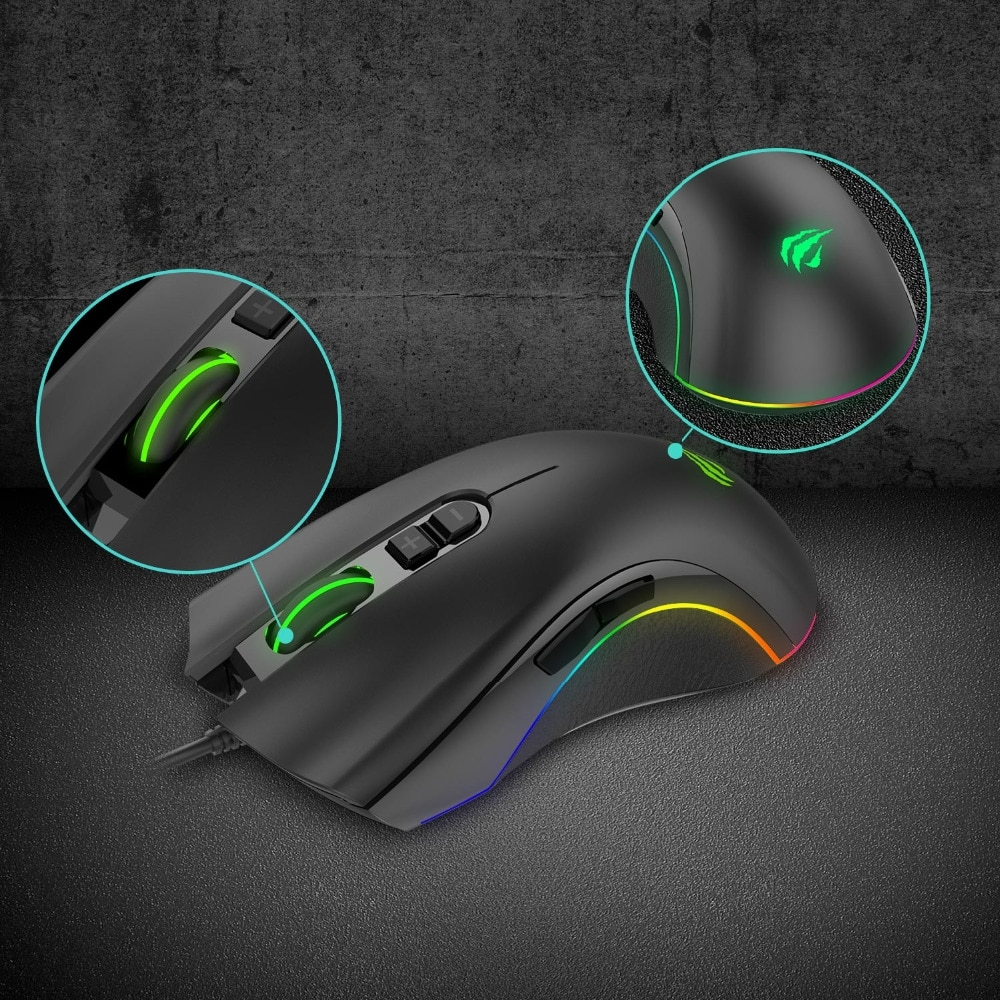 Havit HV-MS794 Programmable Gaming Mouse