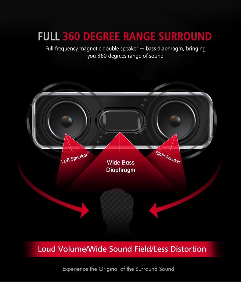 Musky DY22L Wireless Portable Bluetooth Speaker