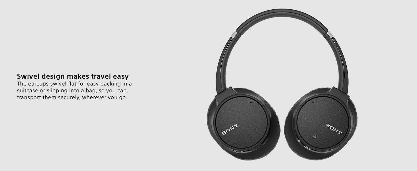 SONY WH-CH700N Wireless Noise Cancelling Bluetooth Headphones Earphones headphone Earpiece Foldable ANC
