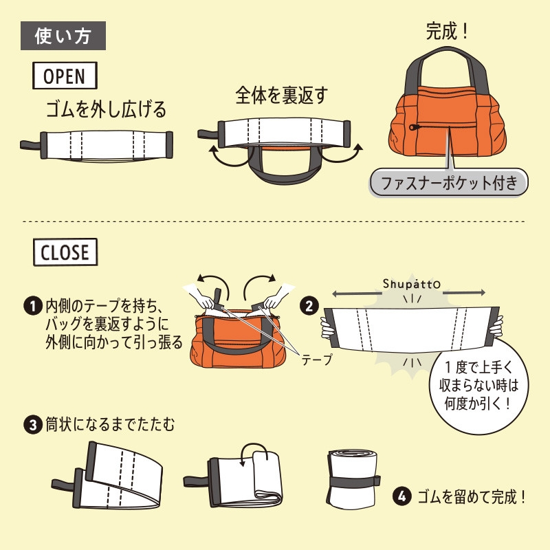 shupatto travel duffel content3