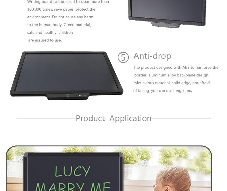 20 inch LCD writing tablet